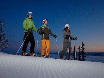 高山滑雪场内华达山脉一周15小时