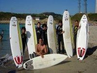 Disfrutando con el Surf