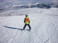 Joven esquiador