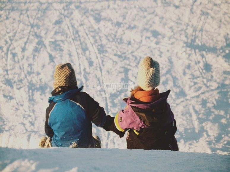 Diferentes maneras de disfrutar de la nieve