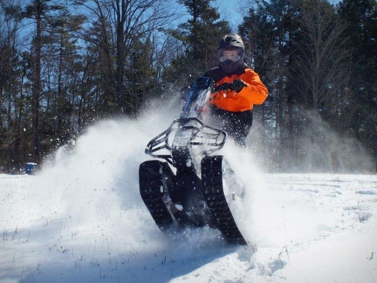 Segway por la nieve