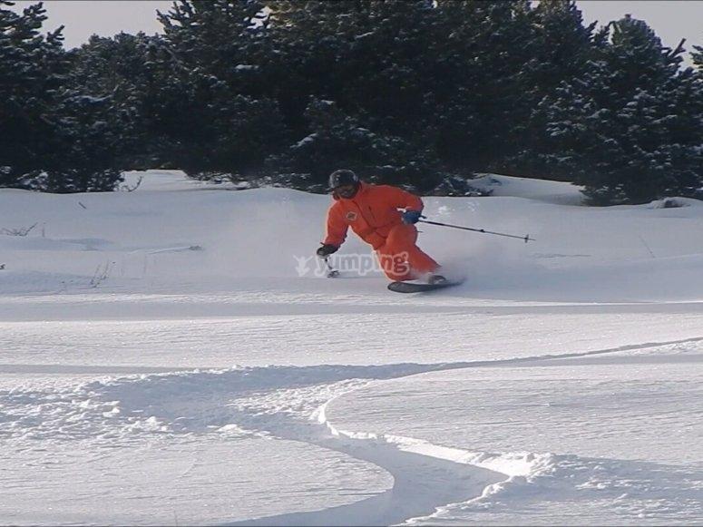 滑雪改良班