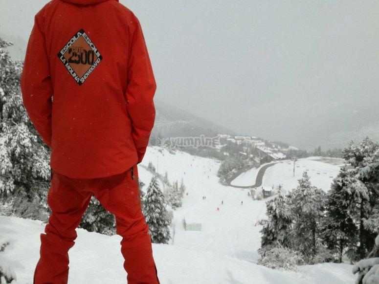 Clase particular snowboard