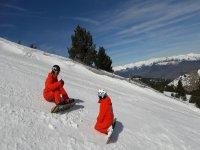 Clase snowboard para 1 o 2 personas