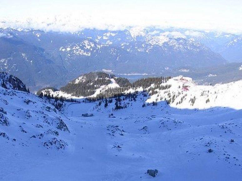 Nuestro equipo de profesores de esquí