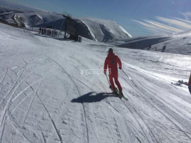 Perfeccionamiento de esquí