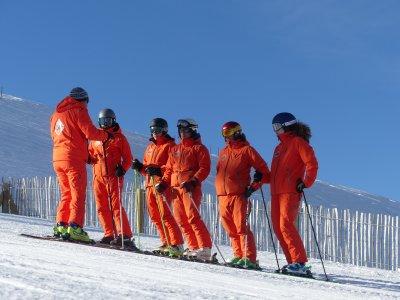 Clase particular de esquí y material La Molina 2 h