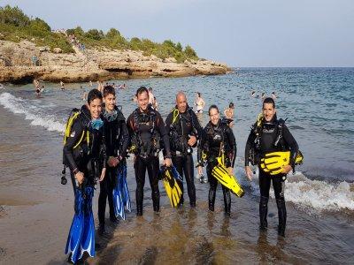 Inmersión de buceo en Cala Llobeta 2h