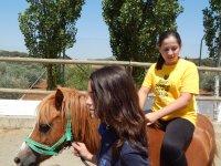 pony riding campamento 2016