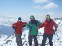 滑雪和雪地旅行