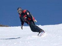 在内华达州内华达州学习单板滑雪
