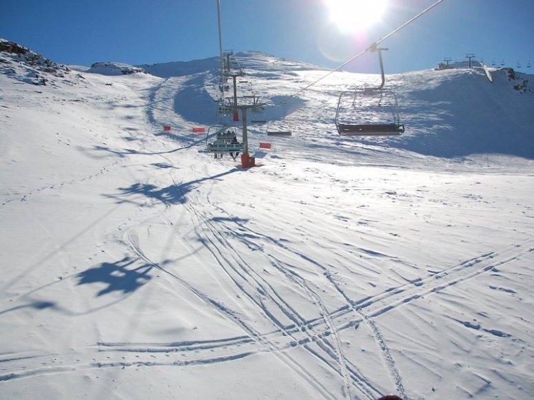 所有级别的滑雪坡道