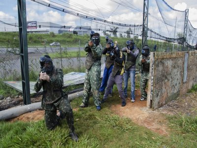 Paintball con 400 bolas en Orense