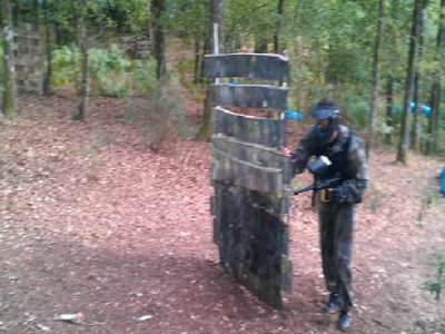 Saving pack 500 balls paintball in Paterna