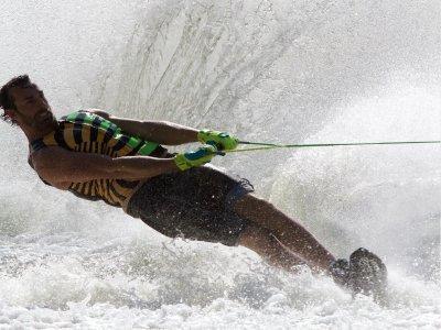 Técnica para el esquí acuático