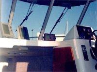 Cuadro de mandos de la embarcación
