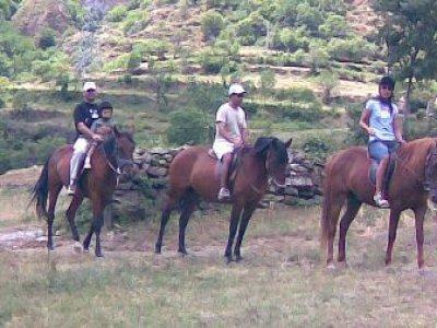 Ruta a caballo 4h. de Sort a Malmercat