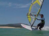 Windsurf por el Cabo de Roses