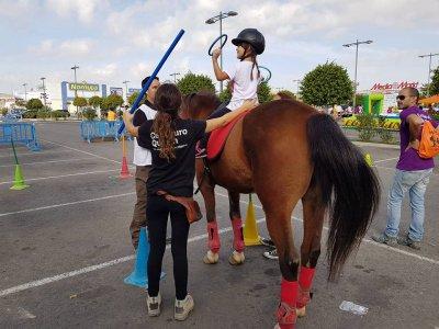 Bono de 4 clases de equitación en La Alberca