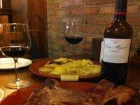 comida y vino