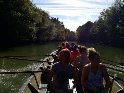 Remo en trainerilla en el río Urumea 1h 30 min