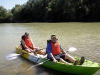 河流和水库划独木舟