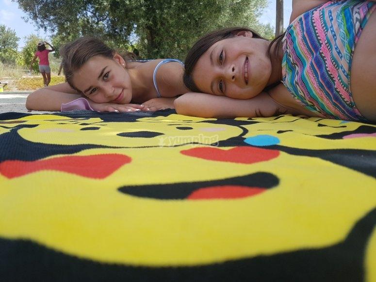 Campamento infantil en Alicante