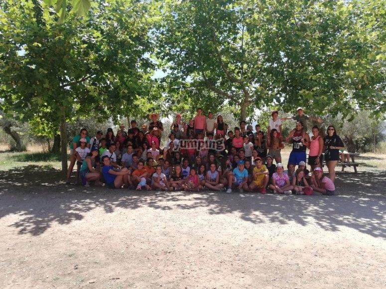 Campamento de verano para niños en Alicante