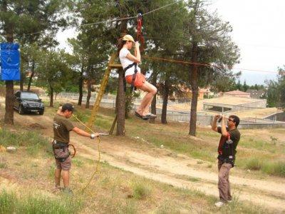Actividades El Burguillo Tirolina
