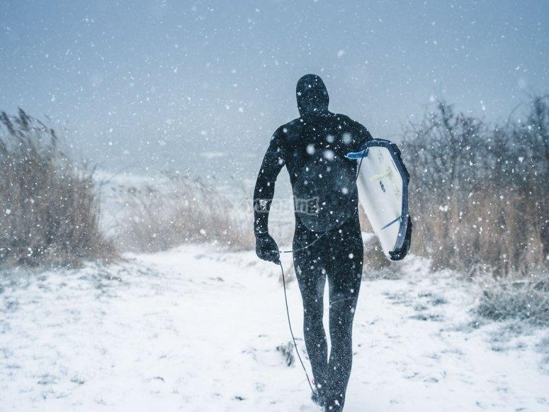 Deportes de agua en invierno