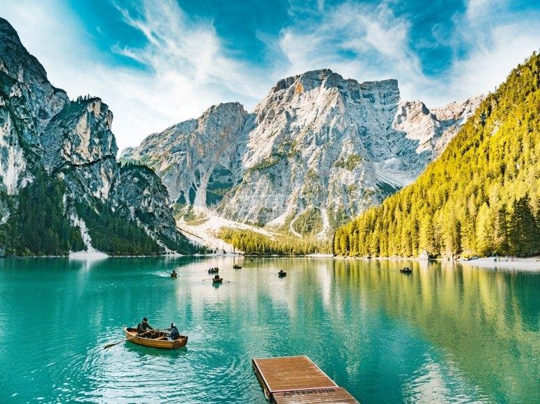 Ruta en canoa en invierno
