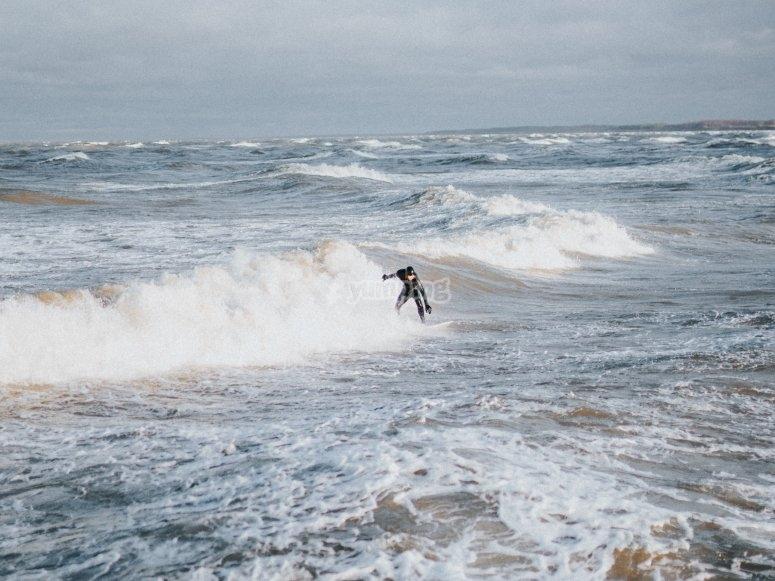 Surf en invierno