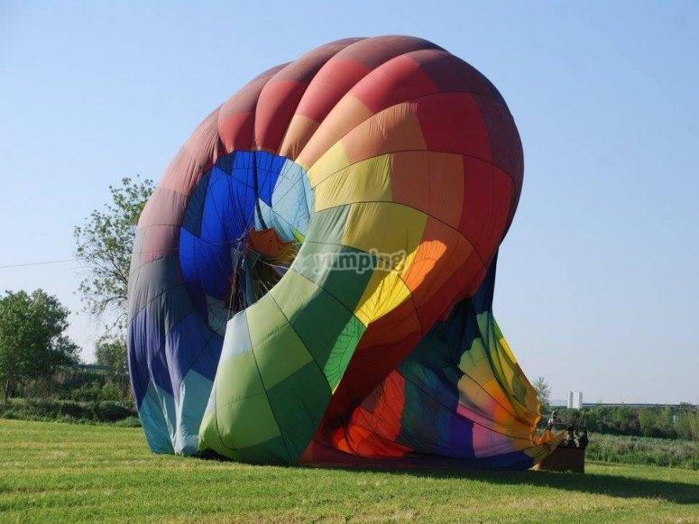 Desinflando el globo