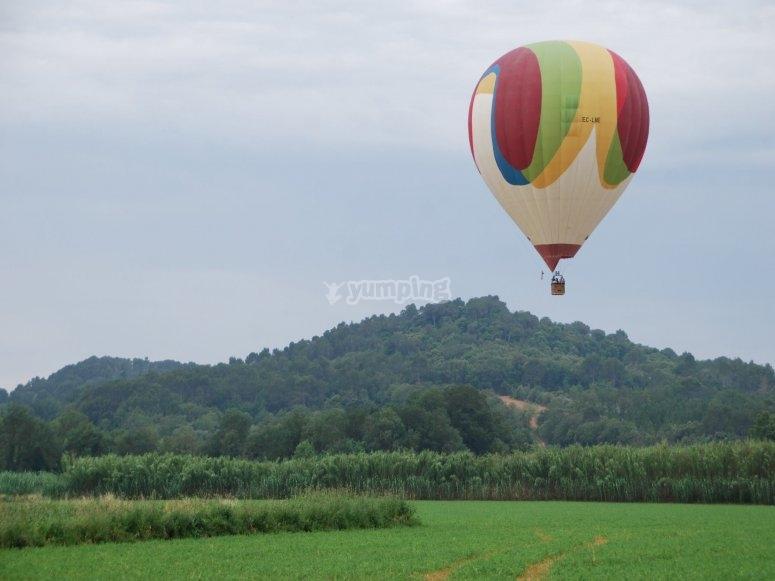 Ampurdan中的气球
