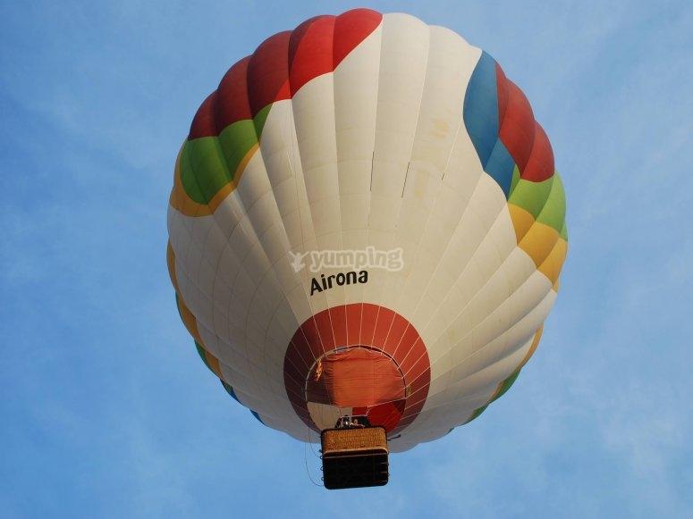 Globo volando