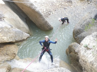 Canyoning per debuttanti a Barcellona