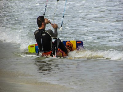 Pack 2 cursos de kitesurf, Arenales del Sol