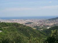 Vista de Barcelona desde Colserola