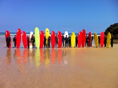 Surf baptism in Llanes, weekend 4 hours