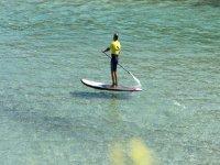 划桨在夏天