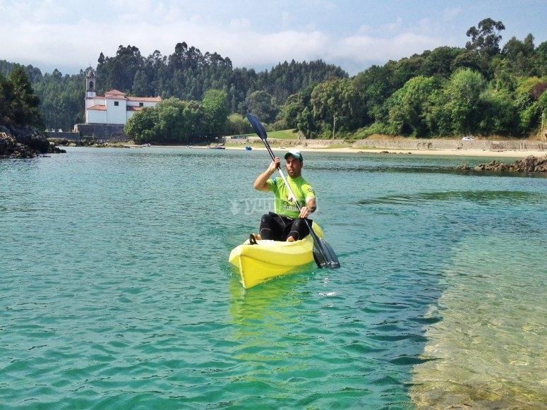 Percorso in kayak a Llanes