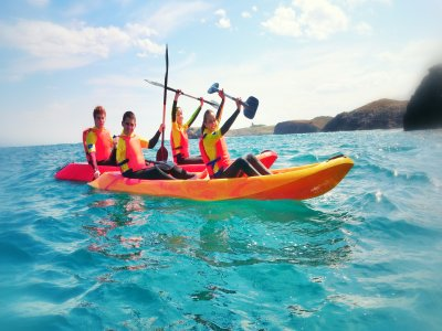 Kayak Trip in the Sea Beaches of Llanes 2 Hours