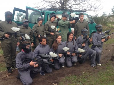 Gioco di paintball 100 palline in Celorio 2h