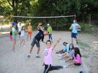 juegos en la arena