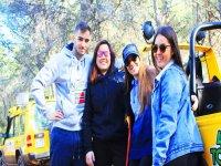 Excursiones en todoterreno con amigos