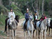 Equestrian route in Girona