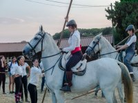 Equestrian demonstration of our riders