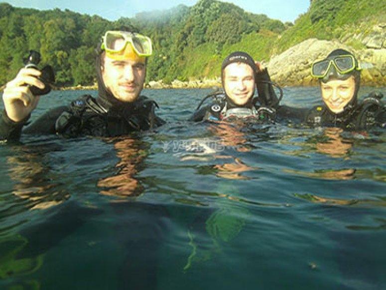 Inmersión en Hondarribia