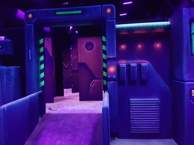 Indoor Karting Barcelona Laser Tag