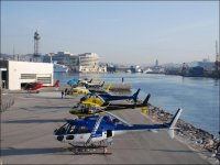 One of our helicopters
